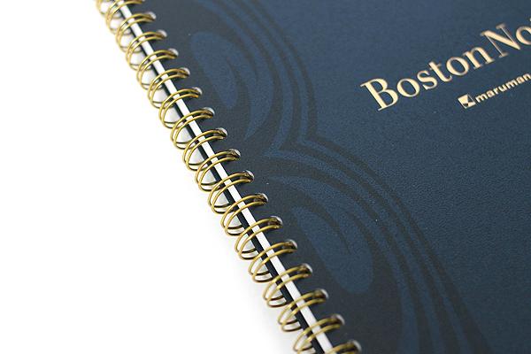 "Maruman Boston Note Notebook - A5 (5.8"" X 8.3"") - 22 lines - 65 Sheets - MARUMAN N123"