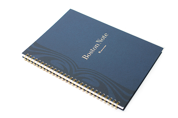 "Maruman Boston Note Notebook - B5 (6.9"" X 9.8"") - 24 lines - 65 Sheets - MARUMAN N122"
