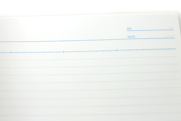 Maruman Eco Spiral Notebook - B5 - 7 mm Rule - Red - MARUMAN N900-01