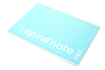Maruman Eco Spiral Notebook - B5 - 7 mm Rule - Light Blue - MARUMAN N900-52