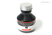 J. Herbin India Ink - Black - for Dip Pen - 50 ml Bottle - J. HERBIN H112/09