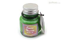 J. Herbin Apple Green Ink - Pearlescent - for Dip Pen - 30 ml Bottle - J. HERBIN H132/34