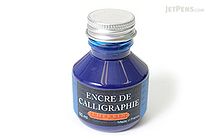 J. Herbin Blue Calligraphy Ink - for Dip Pen - 50 ml Bottle - J. HERBIN H114/10