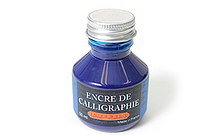 J. Herbin Dip Pen Calligraphy Ink - 50 ml Bottle - Blue - J. HERBIN H114/10