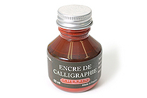 J. Herbin Dip Pen Calligraphy Ink - 50 ml Bottle - Brown - J. HERBIN H114/40