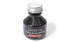 J. Herbin Dip Pen Calligraphy Ink - 50 ml Bottle - Violet Purple - J. HERBIN H114/70