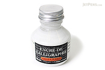 J. Herbin White Calligraphy Ink - for Dip Pen - 50 ml Bottle - J. HERBIN H114/01