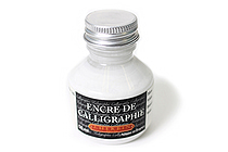 J. Herbin Dip Pen Calligraphy Ink - 50 ml Bottle - White - J. HERBIN H114/01