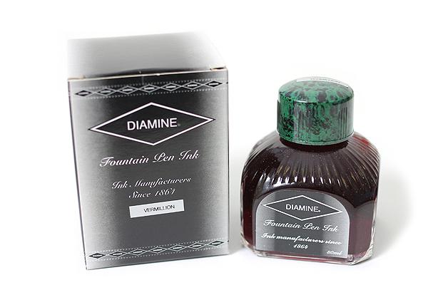 Diamine Fountain Pen Ink - 80 ml - Vermillion - DIAMINE INK 7043