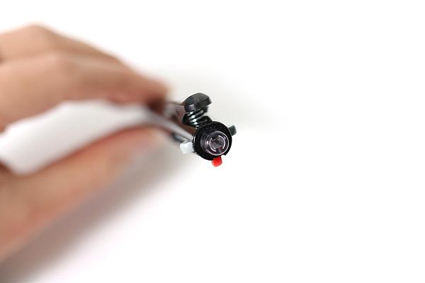 Pilot 2+1 Light 2 Color 0.7 mm Ballpoint Multi Pen + 0.5 mm Pencil - Black Body - PILOT BKHL-30R-B