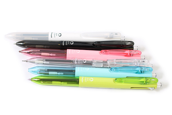Pilot 2+1 Light 2 Color 0.7 mm Ballpoint Multi Pen + 0.5 mm Pencil - Clear Body