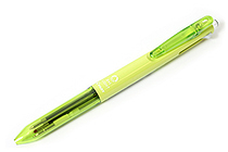 Pilot 2+1 Light 2 Color 0.7 mm Ballpoint Multi Pen + 0.5 mm Pencil - Soft Green Body