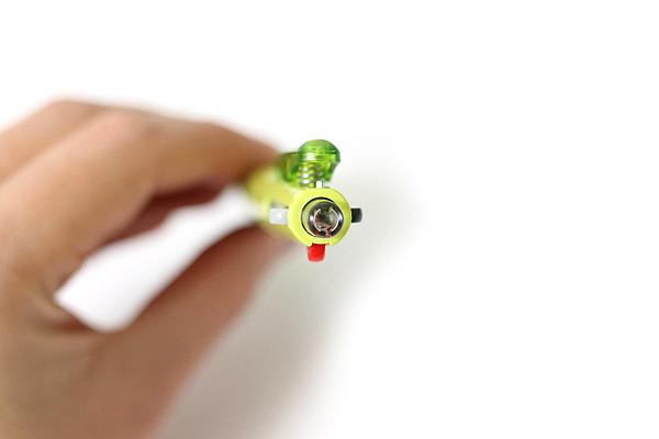 Pilot 2+1 Light 2 Color 0.7 mm Ballpoint Multi Pen + 0.5 mm Pencil - Soft Green Body - PILOT BKHL-30R-SG