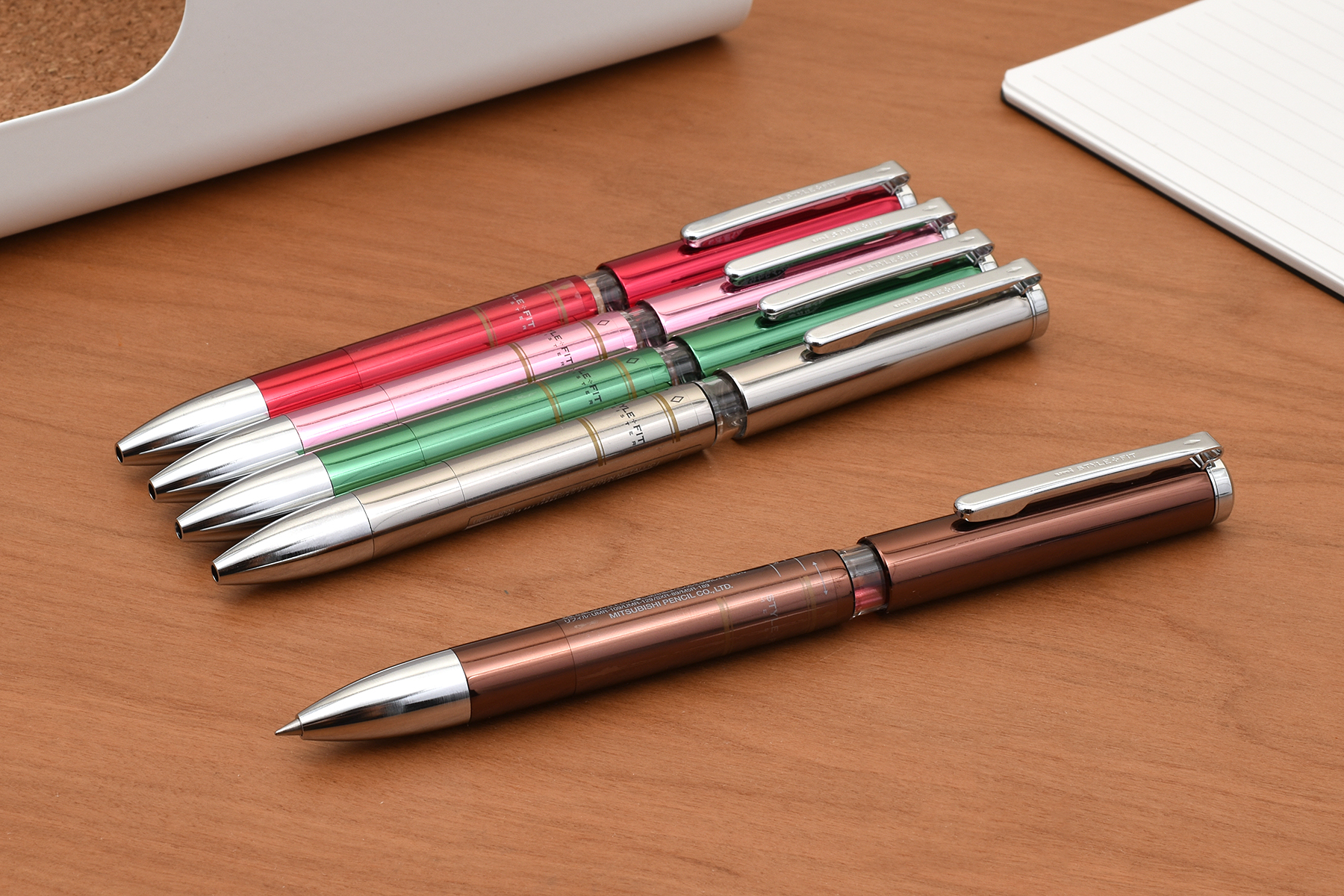 Uni Style Fit Meister 3 Color Multi Pen Body Component - Pink - UNI UE3H1008.13