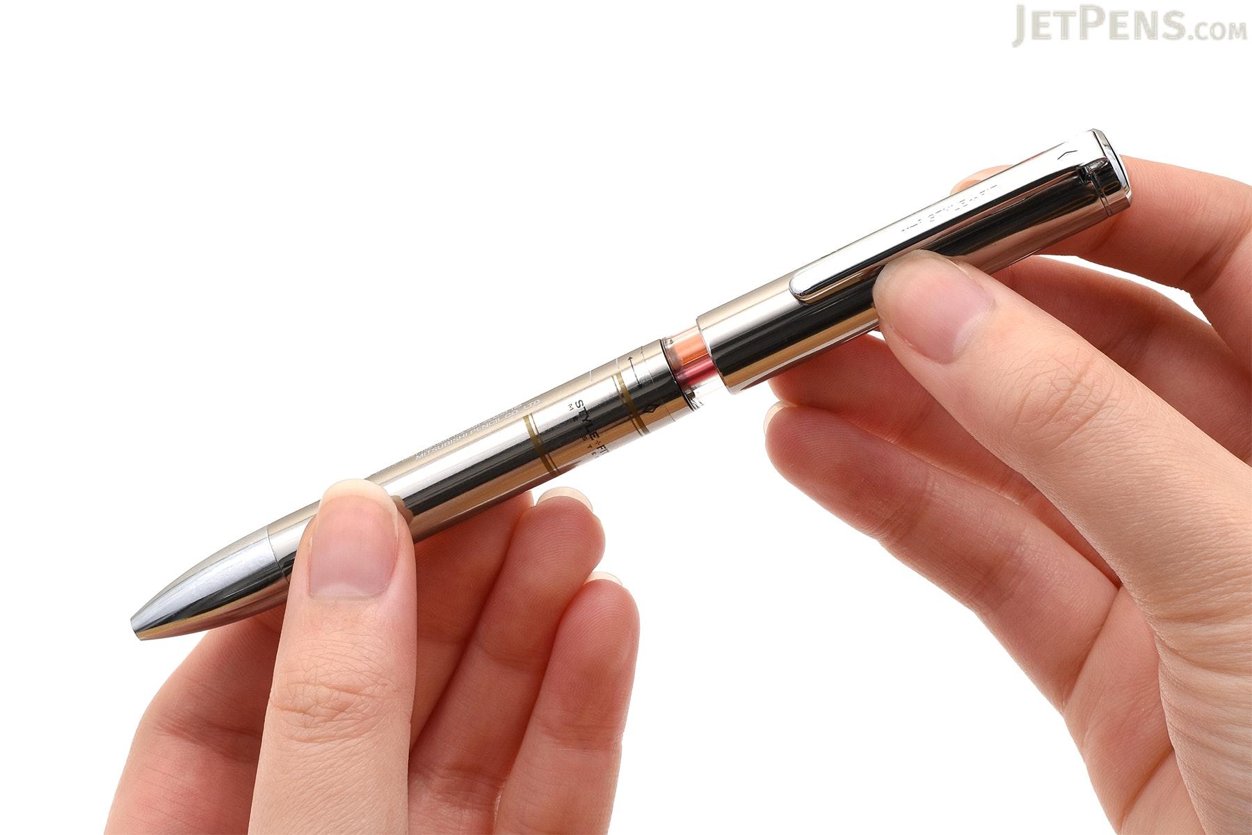 Uni Style Fit Meister 3 Color Multi Pen Body Component - Gun Metal Gray - UNI UE3H1008.43