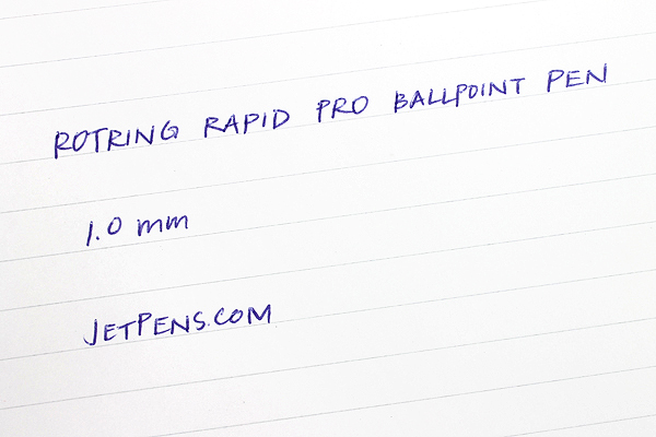 Rotring Rapid Pro Ballpoint Pen - 1.0 mm - Black Body - Blue Ink - ROTRING 1904292