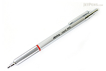Rotring Rapid Pro Ballpoint Pen - 1.0 mm - Silver Body - Blue Ink - ROTRING 1904291
