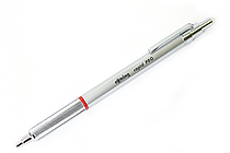 Rotring Rapid Pro Ballpoint Pen - 1.0 mm - Silver Body - Blue Ink - SANFORD 1904291