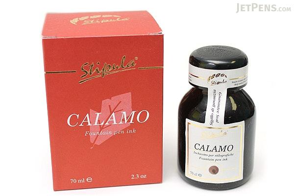 Stipula Calamo Fountain Pen Ink - 70 ml Bottle - Sepia - STIPULA STN48902
