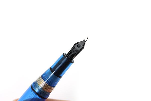 Stipula Passaporto Fountain Pen - Medium Nib - Transparent Blue Body - STIPULA ST48742