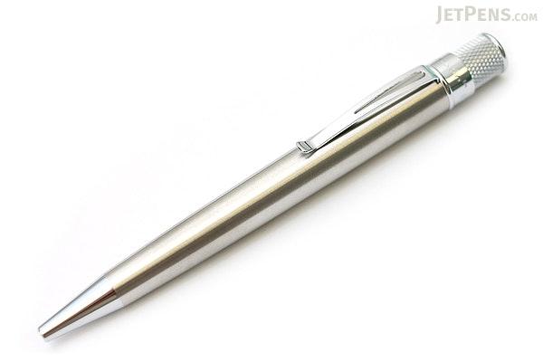 Retro 51 Tornado Classic Lacquers Rollerball Pen - 0.7 mm - Stainless Body - RETRO 51 VRR-1315