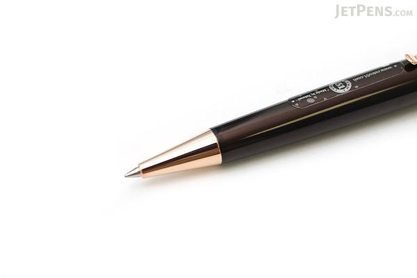 Retro 51 Tornado Classic Lacquers Rollerball Pen - 0.7 mm - Brown Body with Gold Trim - RETRO 51 VRR-1304
