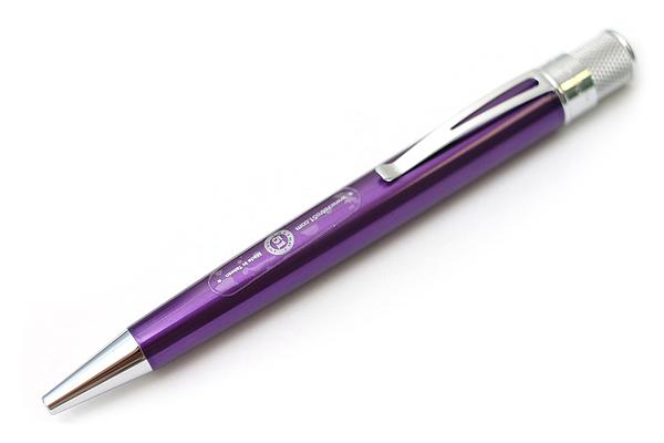 Retro 51 Tornado Classic Lacquers Rollerball Pen - 0.7 mm - Purple Body - RETRO 51 VRR-1317