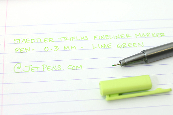 Staedtler Triplus Fineliner Pen - 0.3 mm - Lime Green - STAEDTLER 334-53