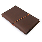 Pelle Leather Journal - Medium - 64 Sheets