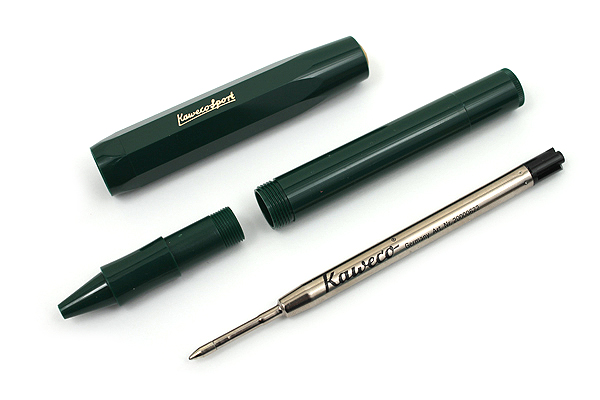 Kaweco Classic Sport Rollerball Pen - Medium Point - Green Body - KAWECO 10000497