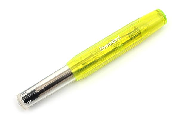 Kaweco Ice Sport Rollerball Pen - Medium Point - Yellow Body - KAWECO 10000581