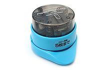 Sun-Star Paper Stitch Lock Stand Staple-Less Stapler - Mineral Blue - SUN-STAR S4766377