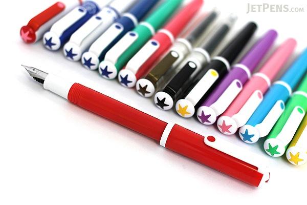 Sailor Clear Candy Fountain Pen - Medium Fine Nib - Trademark & Body - SAILOR 11-0103-310