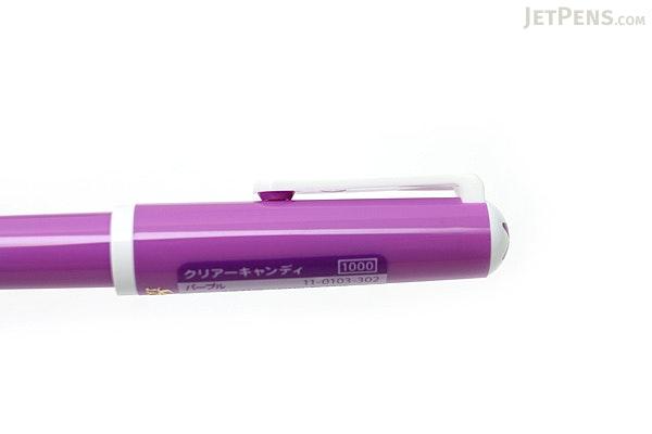 Sailor Clear Candy Fountain Pen - Purple - Medium Fine Nib - SAILOR 11-0103-302