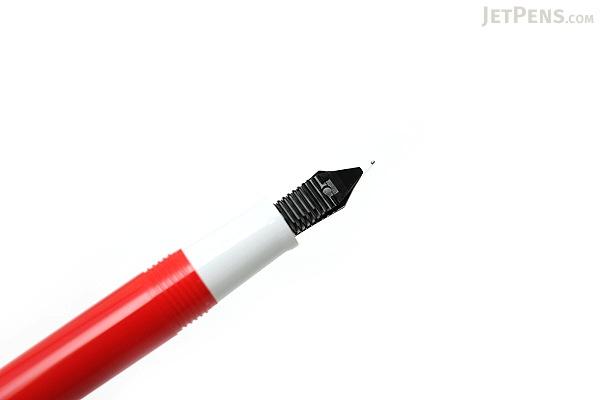 Sailor Clear Candy Fountain Pen - Red - Medium Fine Nib - SAILOR 11-0103-307