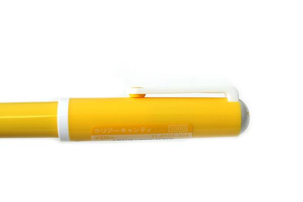 Sailor Clear Candy Fountain Pen - Medium Fine Nib - Yellow Body - SAILOR 11-0103-304
