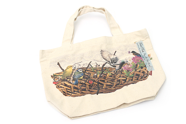 Fake Make Tote - Small - Bird Basket