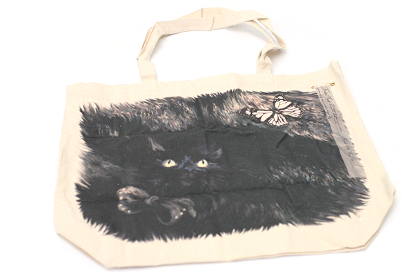 Fake Make Tote - Large - Fur Cat - FAKE MAKE CAT L