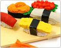 Iwako Sushi Novelty Erasers