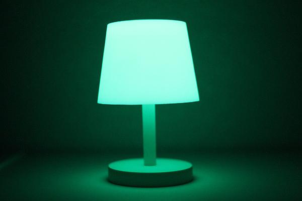 Glow in the Dark Lamp - Green - GLOW GREEN
