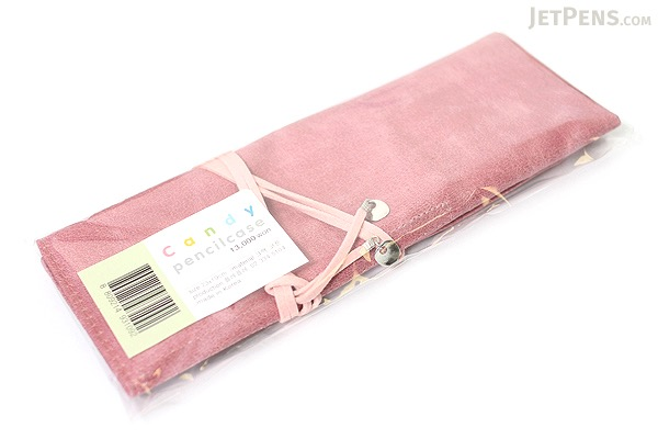 PlePle Candy Wrap Pencil Case - Pink - PLEPLE CANDY PINK PINK