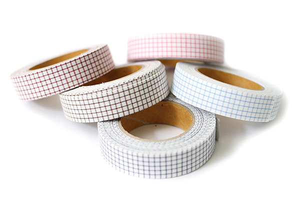 Dailylike Fabric Tape - Line Check - Navy