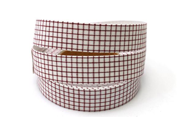 Dailylike Fabric Tape - Line Check - Red - DAILYLIKE DFTC11