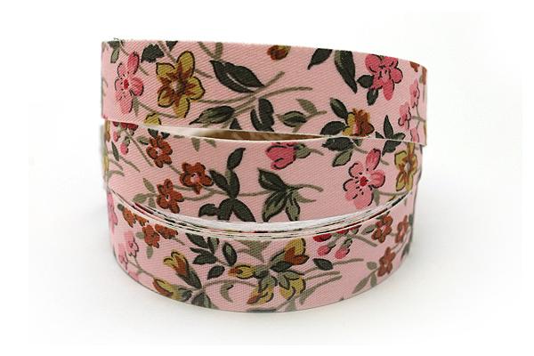 Dailylike Fabric Tape - Wild Flower - Pink - DAILYLIKE DFTF01