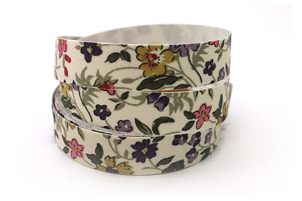 Dailylike Fabric Tape - Wild Flower - Ivory
