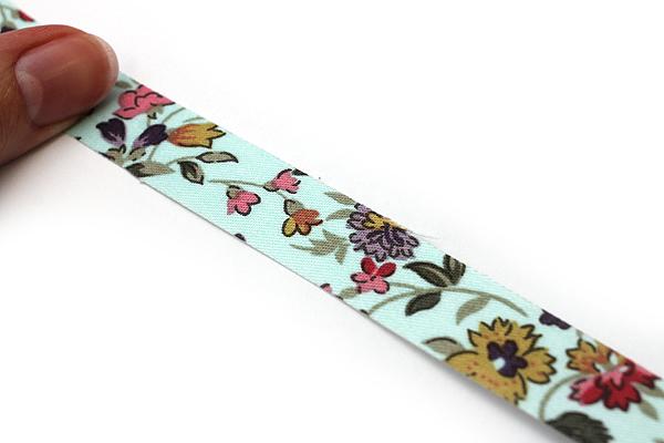 Dailylike Fabric Tape - Wild Flower - Sky Blue - DAILYLIKE DFTF04