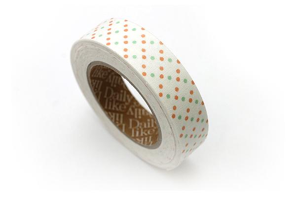 Dailylike Fabric Tape - Ann Dot 1.5 - 04 - DAILYLIKE DFTD09