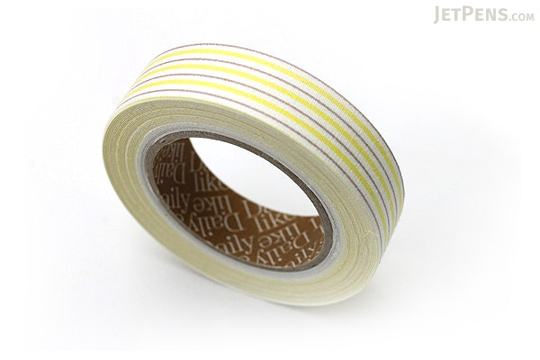 Dailylike Fabric Tape - Emma Stripe 01 - 01 - DAILYLIKE DFTS08