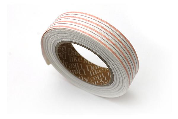 Dailylike Fabric Tape - Emma Stripe 01 - 02 - DAILYLIKE DFTS09