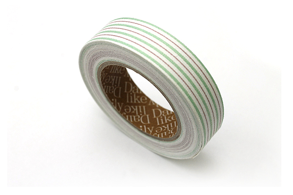 Dailylike Fabric Tape - Emma Stripe 01 - 03 - DAILYLIKE DFTS10